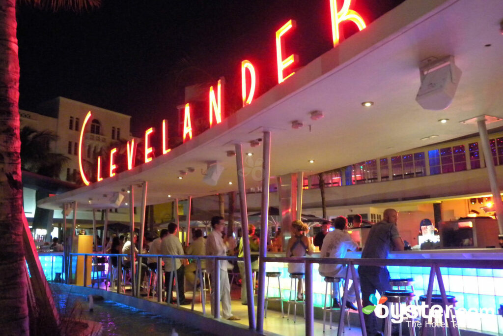 Pool Bar at Clevelander South Beach Hotel/Oyster