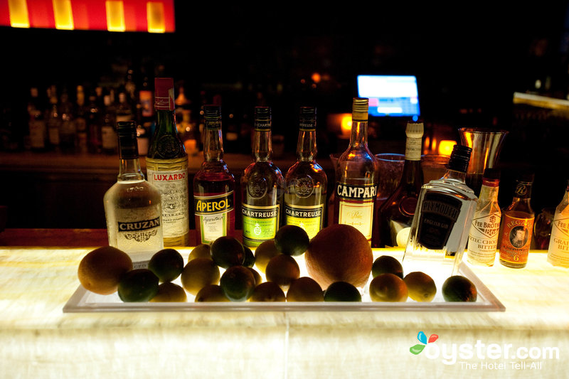 POV at the W Washington DC, where the all-natural libations are made with fresh fruits & vegetables