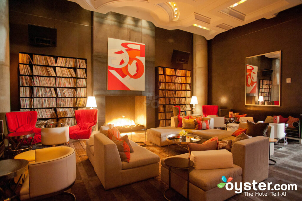 Living Room at the W Austin