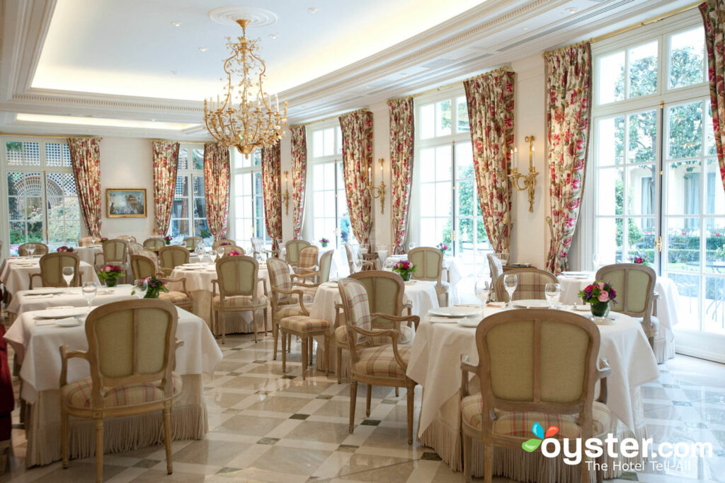 Hotel Le Bristol's Epicure has three Michelin stars.
