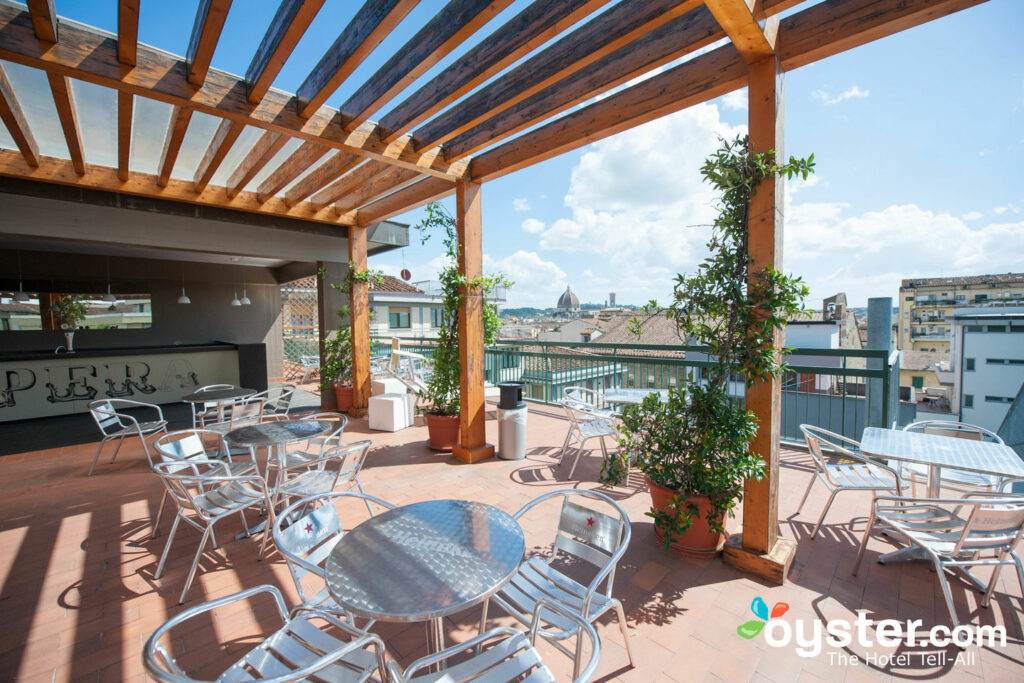 Rooftop Terrace at Plus Florence/Oyster