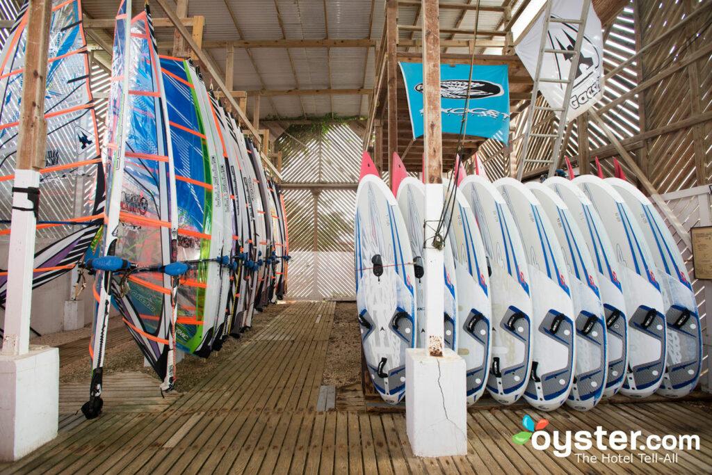Vacances de planche à voile situé sur le site à Aruba Beach Villas