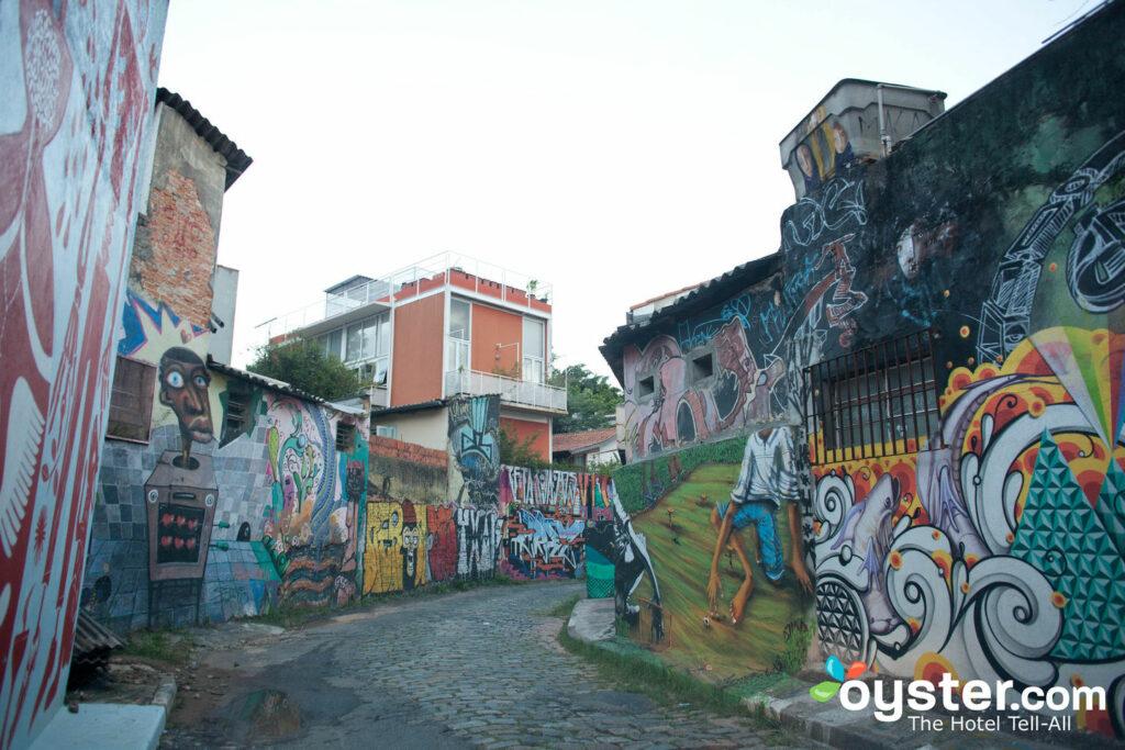 Street scenes in Sao Paulo, Brazil