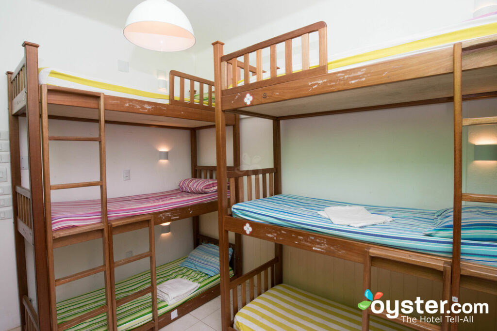 The Shared Dormitory for Six at the Bonita Ipanema