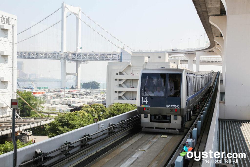 Shibaura Futo train station in Tokyo