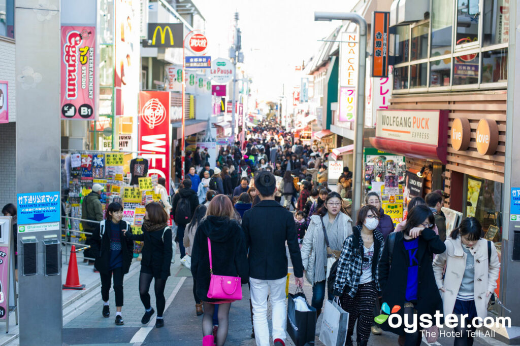 Shibuya street in Tokyo