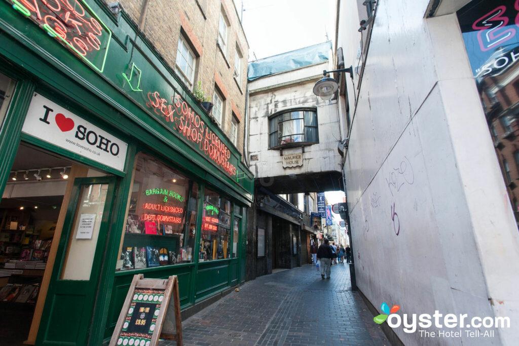 London's Soho