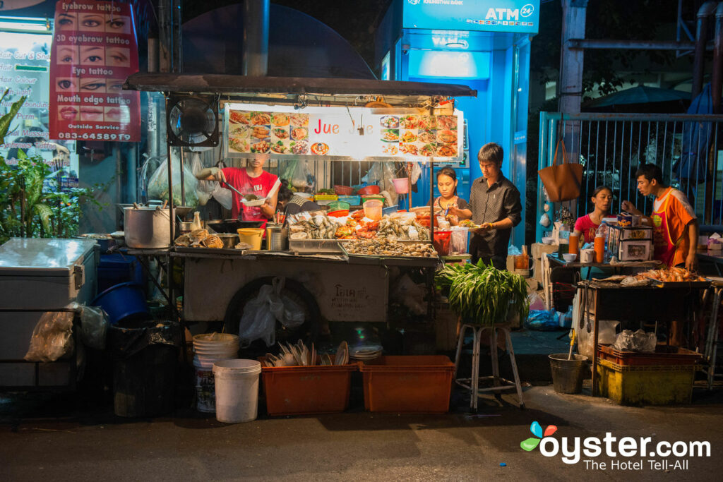 Bangkok's street-food scene is the stuff of legend. Pro tip? Head to the sois off of Sukhumvit Road.