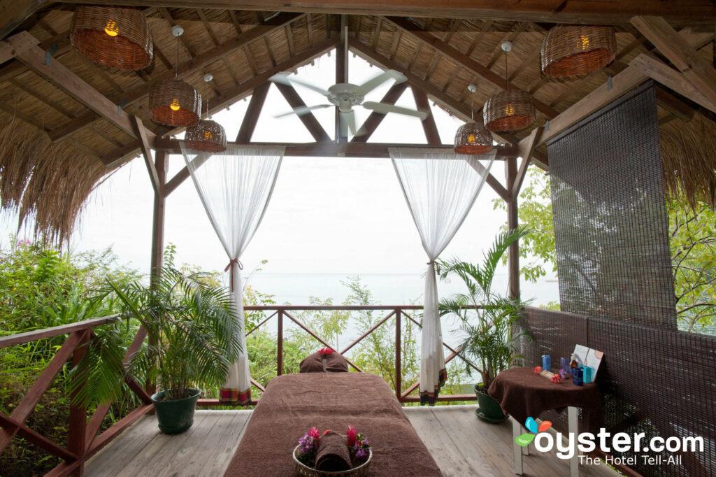 Spa en el Anse Chastanet Resort en Santa Lucía
