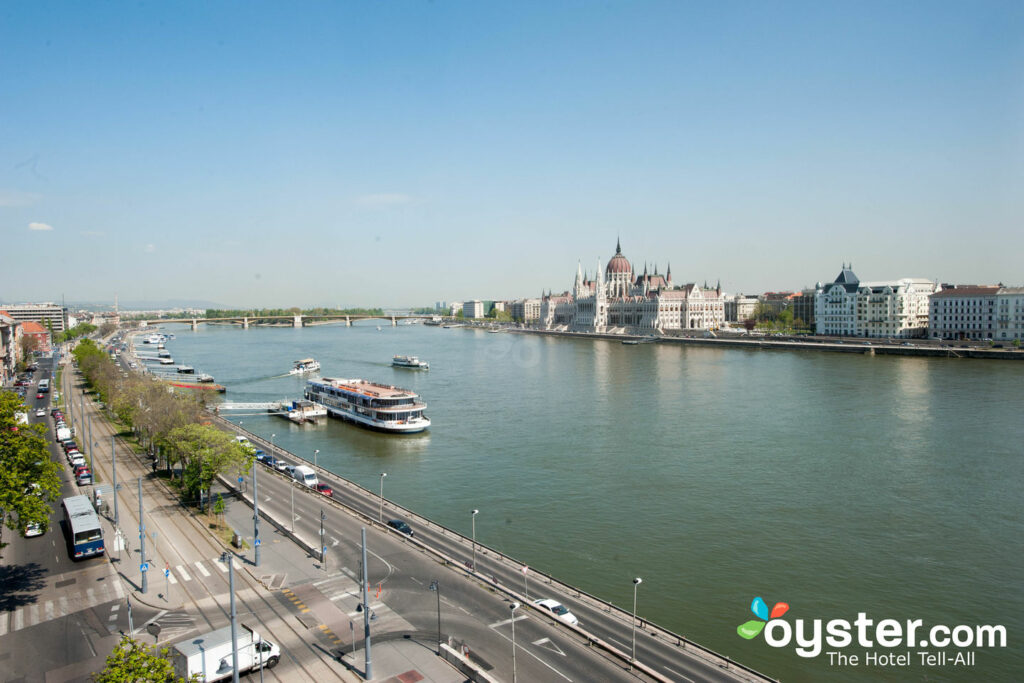 View of the Danube River from Boutique Hotel Victoria Budapest/Oyster