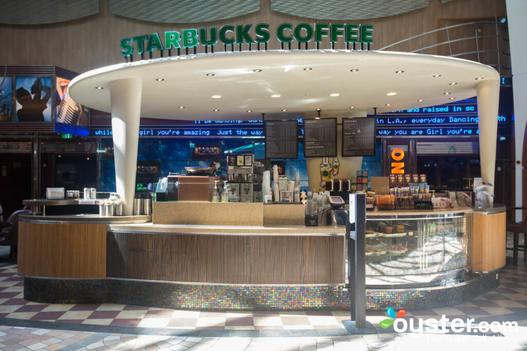 Starbucks on Allure of the Seas/Oyster