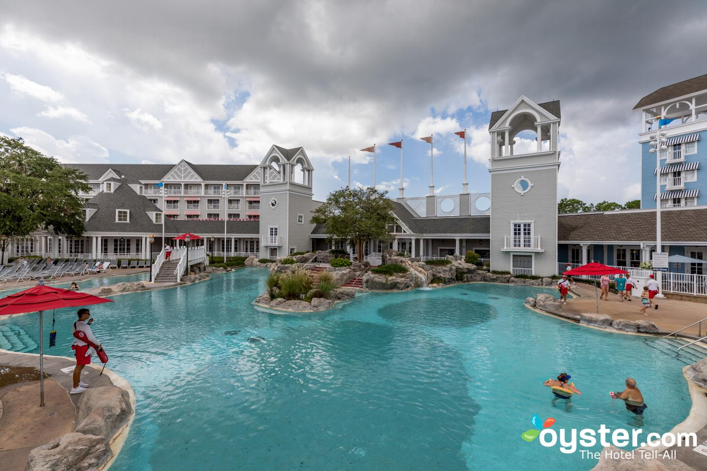 Disneys Beach Club Resort  The Leisure Pool at the