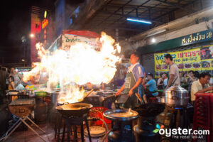 Street Food in Bangkok, Thailand/Oyster