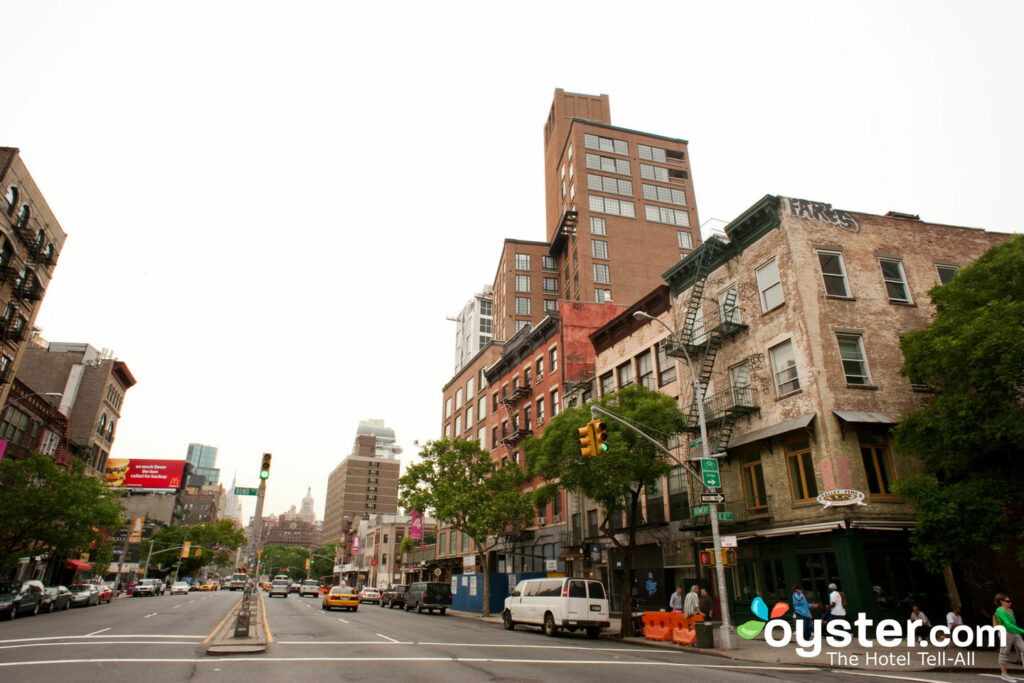 The LES's Bowery Street in particular has seen a lot of recent growth and changeover.