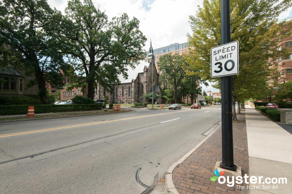 Street at Graduate Ann Arbor/Oyster