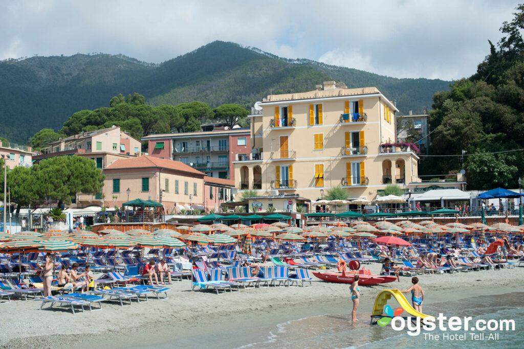 Praia no Hotel La Spiaggia