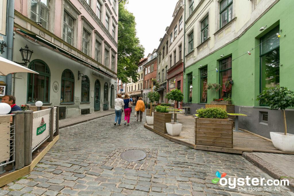 Straße im Neiburgs Hotel / Oyster