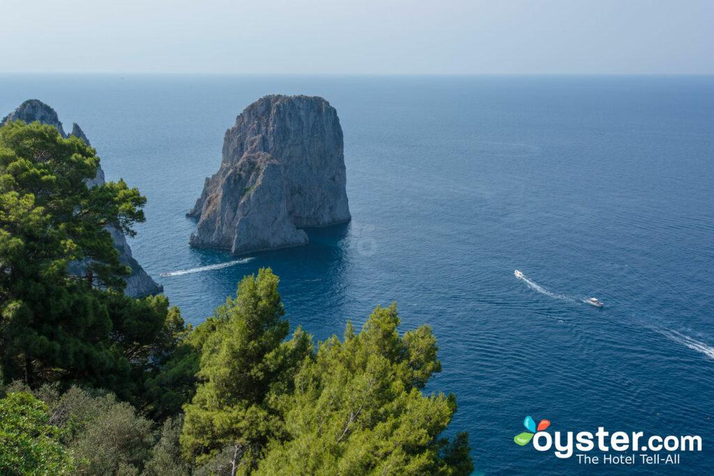 Vista desde Punta Tragara, Capri
