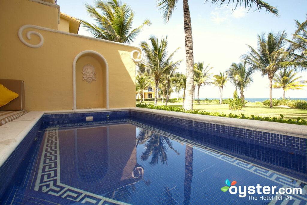 The Suite with Plunge Pool at the Zoetry Paraiso de la Bonita Riviera Maya