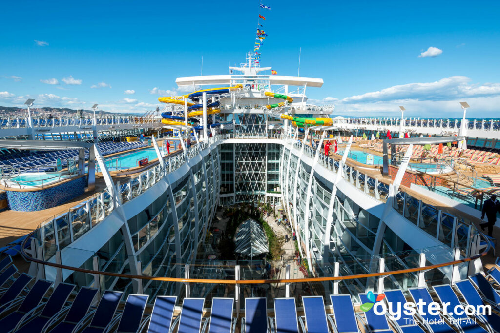 Sun Deck sur Symphony of the Seas / Oyster