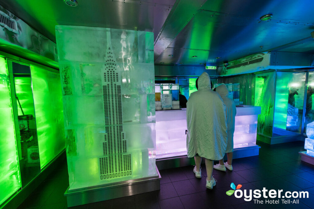 Svedka Ice Bar on Norwegian Breakaway/Oyster