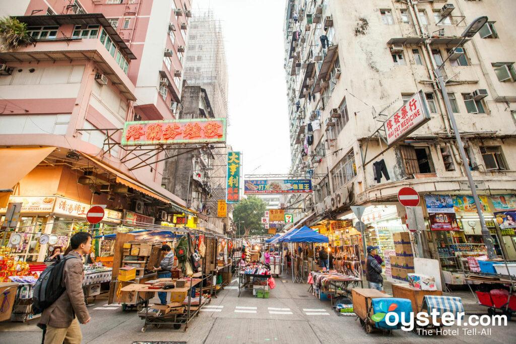 Hongkong Straßen / Austern