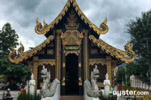 Temple in Chiang Mai/Oyster