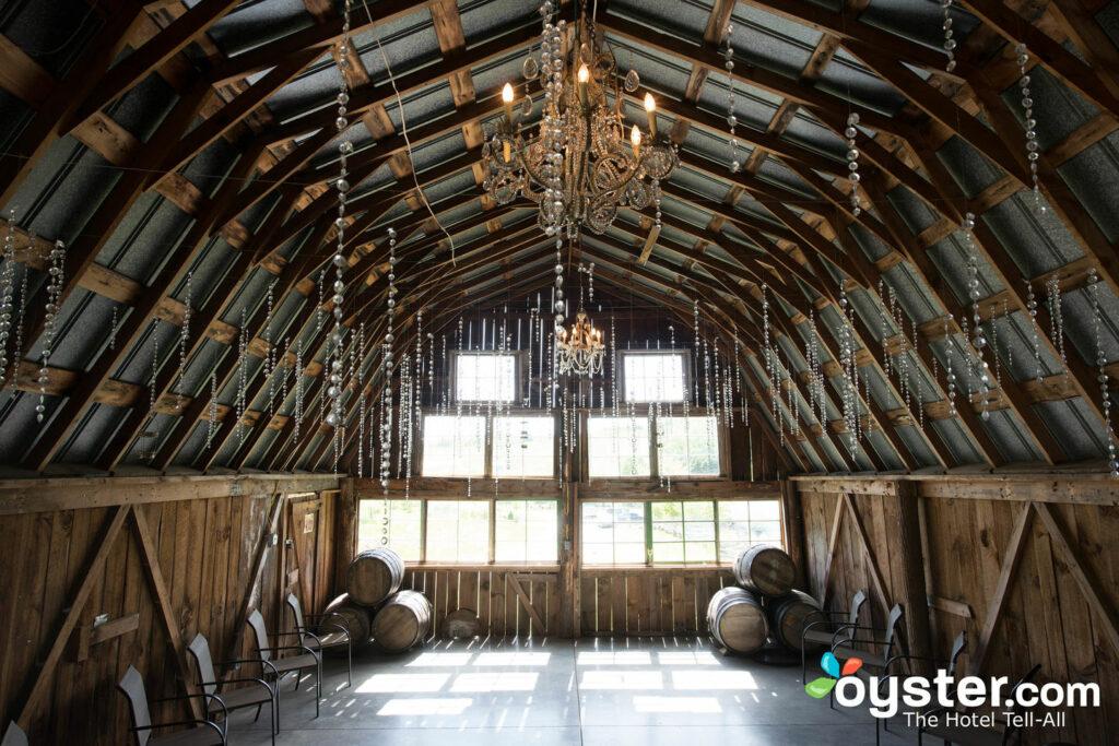 Barn Venue at Banner Elk Winery & Villa, Banner Elk/Oyster