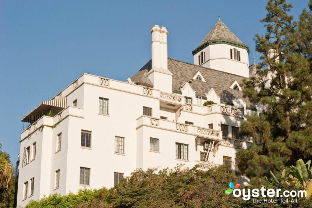 O charme e nostalgia na arquitetura do Chateau Marmont Hotel
