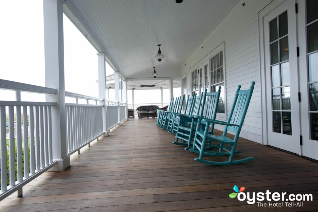 The Front Porch at the Harbor View Hotel