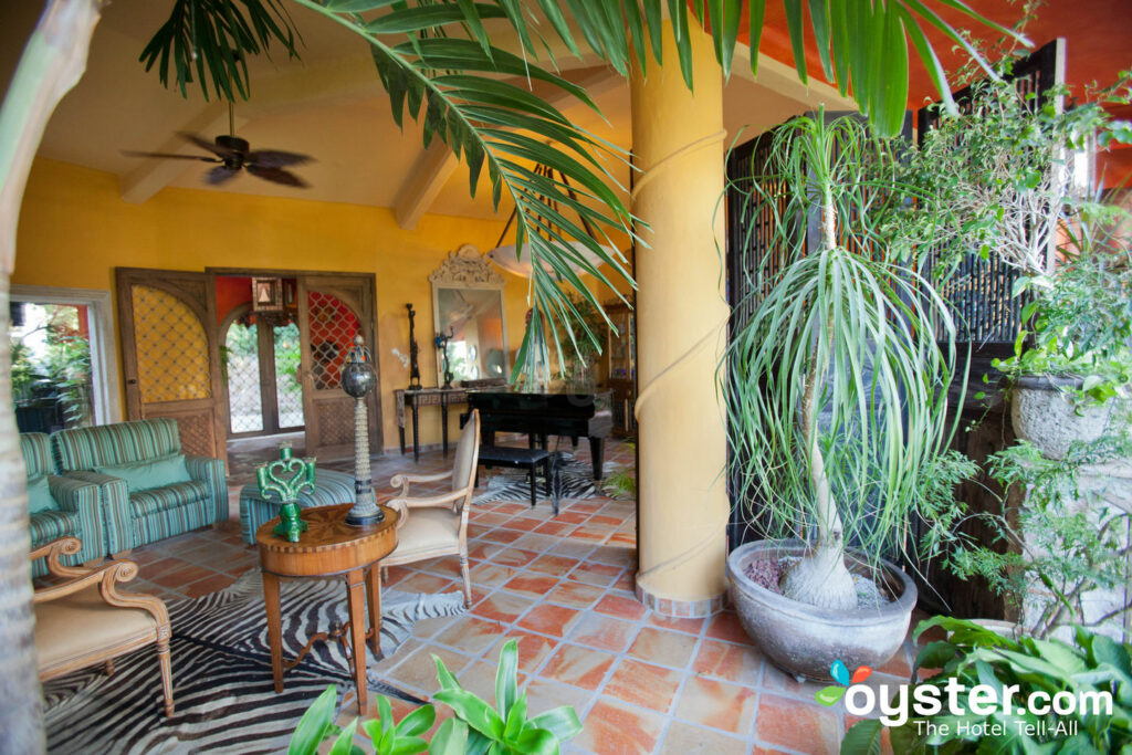 Lounge Area at Casa Cupula