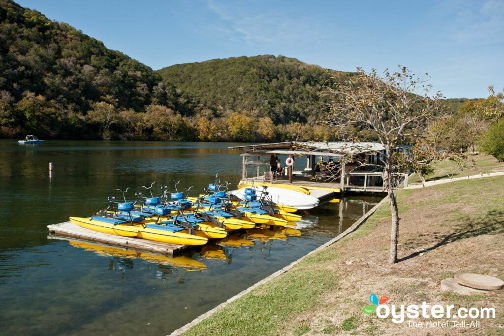 Sports nautiques au Lake Austin Spa Resort
