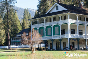 Grounds at the Wawona Hotel