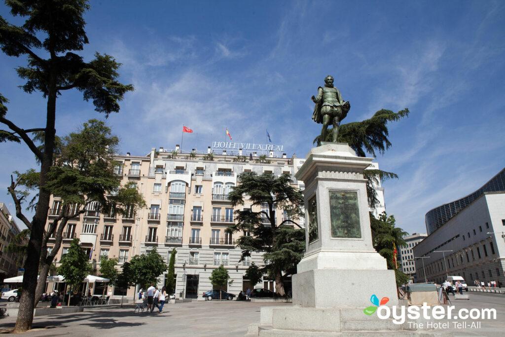 Madrid's Plaza de las Cortes