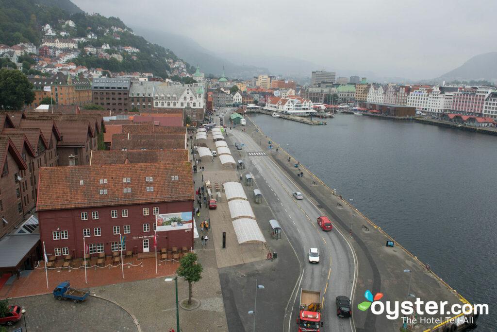 Blick vom Clarion Collection Hotel Havnekontoret / Oyster