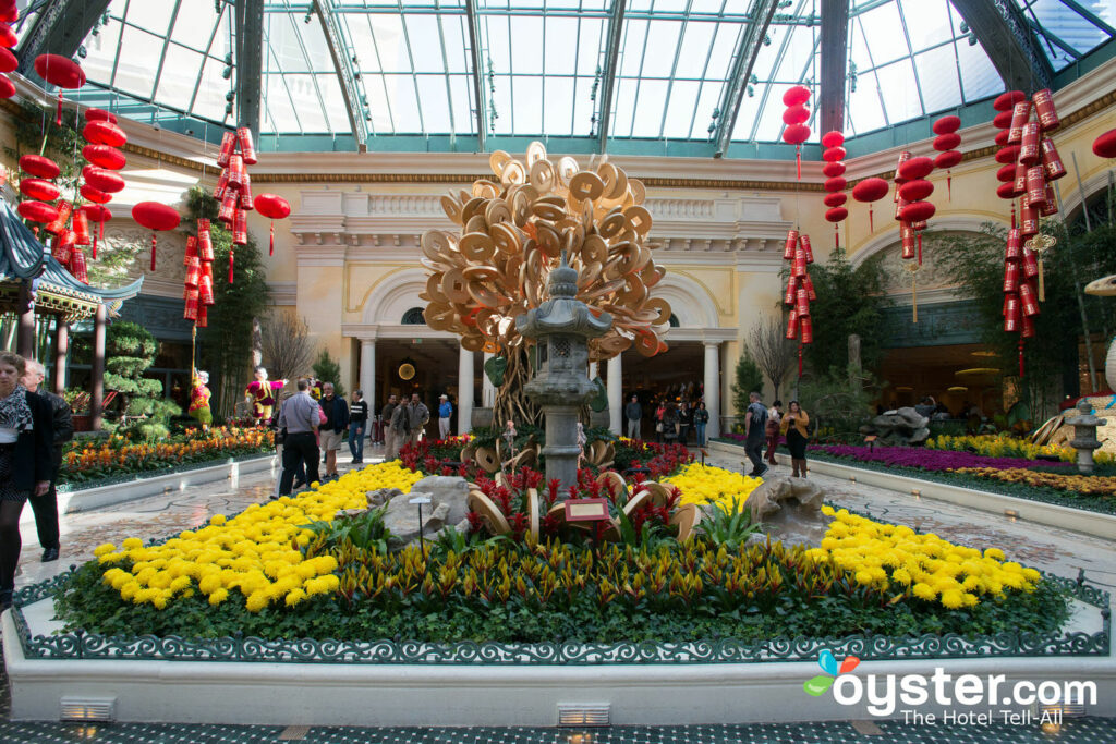 Conservatory at the Bellagio
