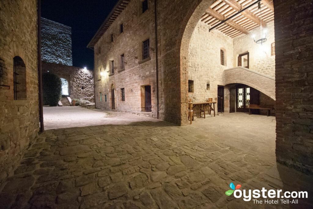 Outdoor Passageways at Castello di Petroia