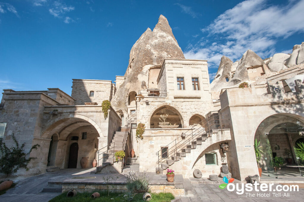 The Anatolian Houses are built inside ancient caves.
