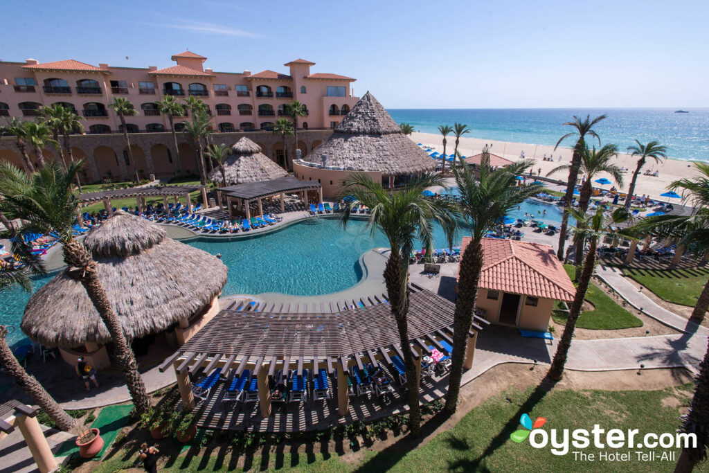 The pool and beach at Royal Solaris Los Cabos