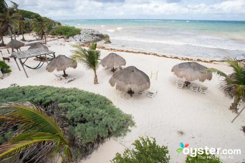 Strand in der Piedra Escondida