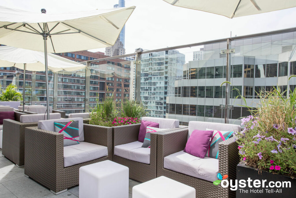 The Skydeck at the Ivy Boutique Hotel
