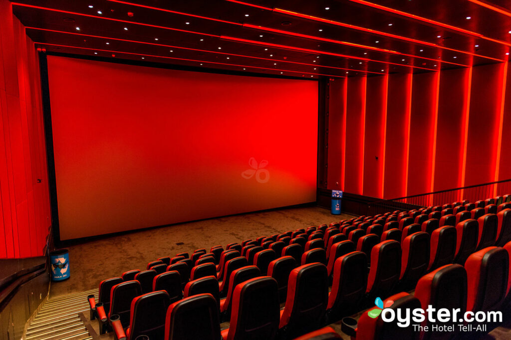 Thrill Theater and IMAX on Carnival Vista/Oyster