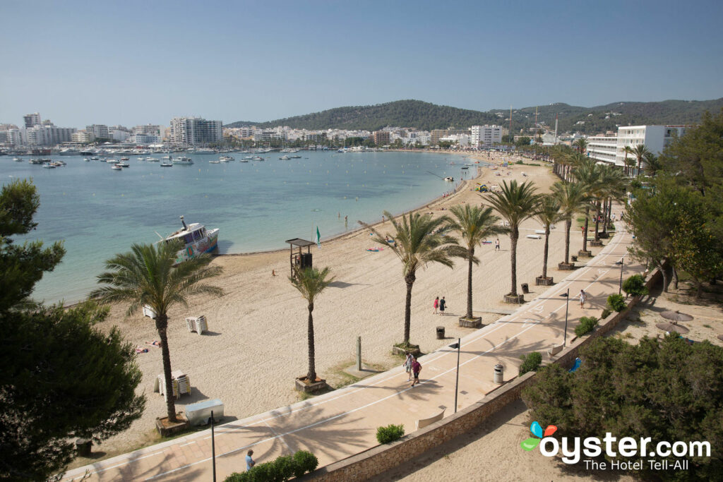 View from Ses Savines Hotel, Sant Antoni de Portmany/Oyster