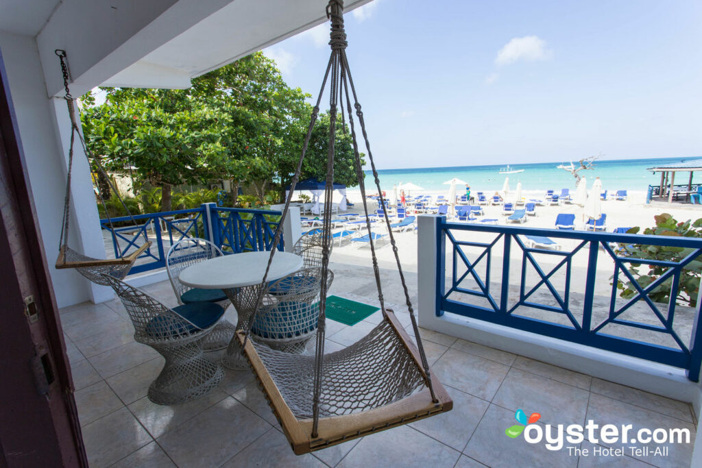 View from Two-Bedroom Suite at Negril Tree House Resort/Oyster