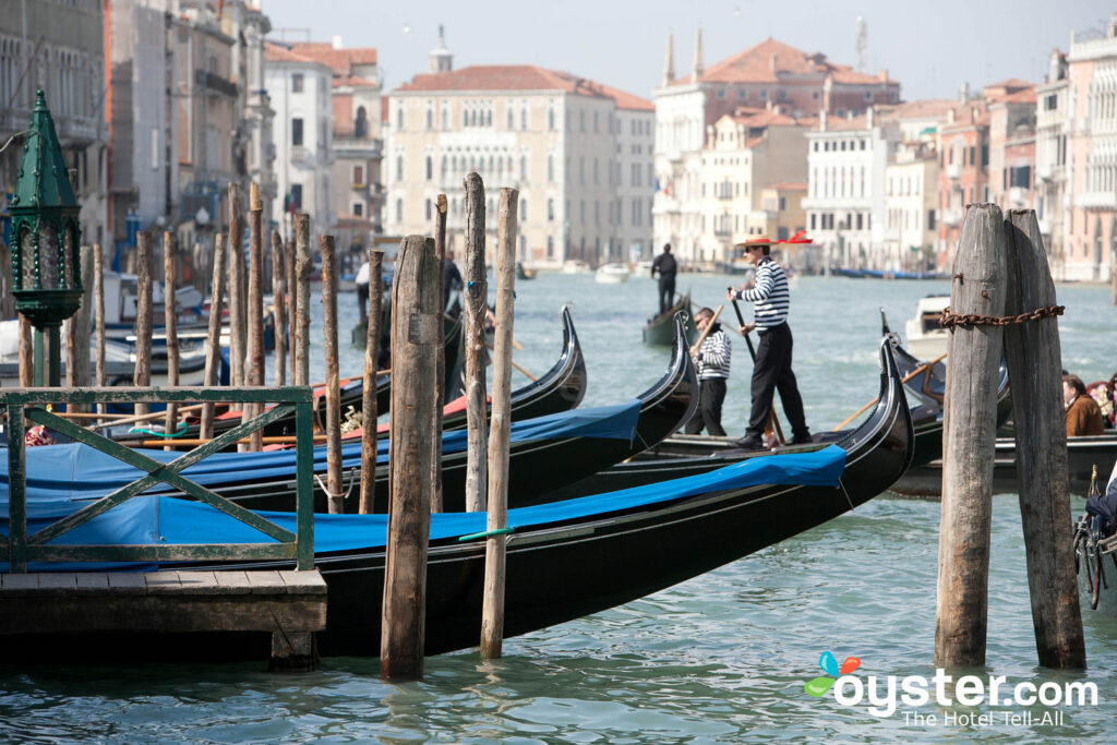 Gondoles, Venise / Huître