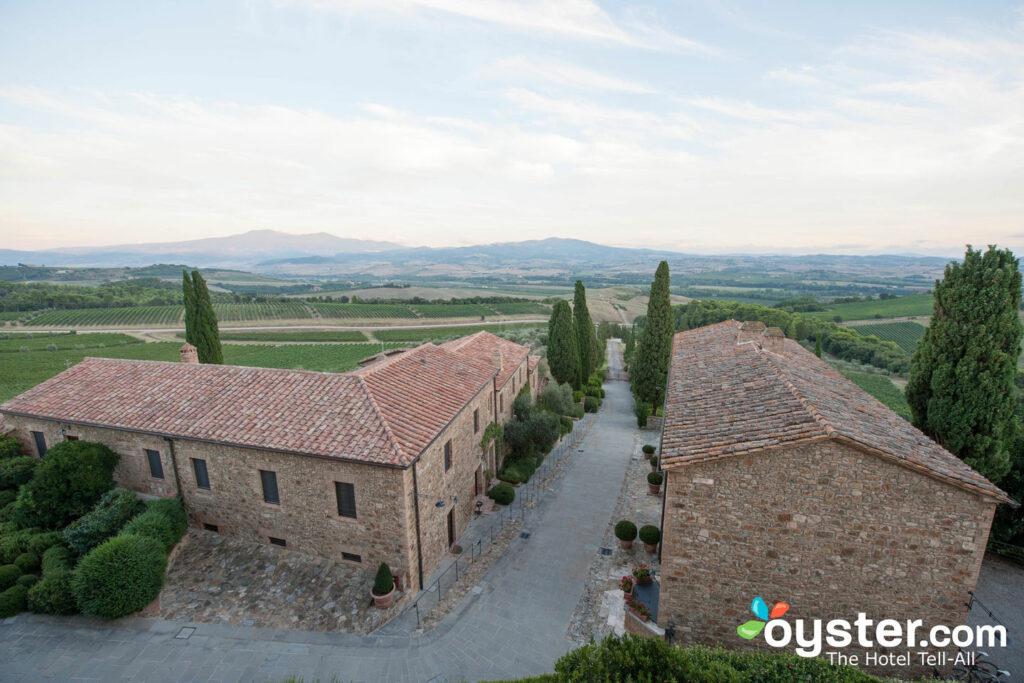 View from Hotel at the Castello Banfi - Il Borgo