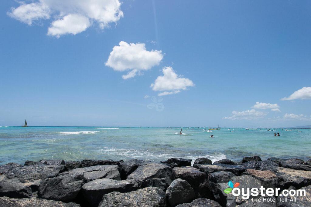 Caminhada na praia de Waikiki