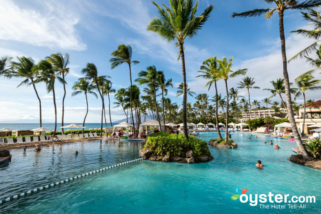 Wailea Canyon Activity Pool at Grand Wailea