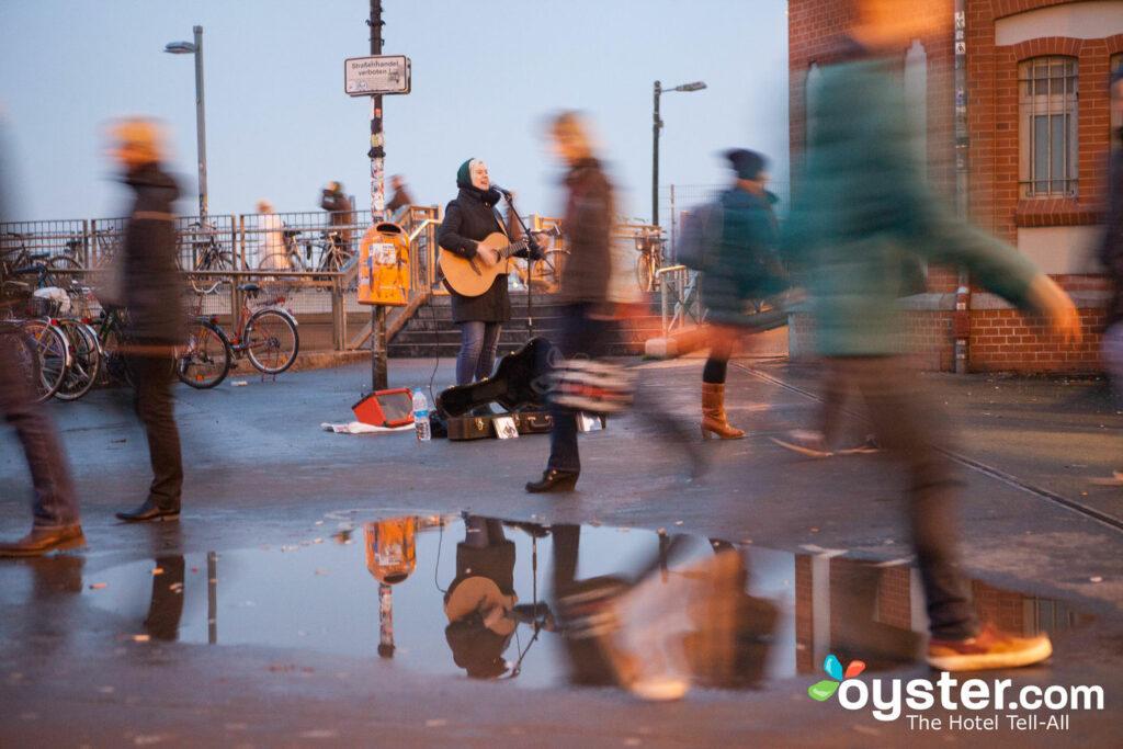 Buskers Kreuzberg en Berlín / Oyster