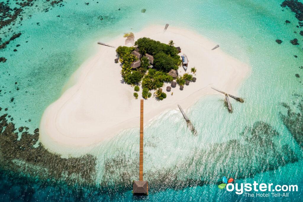 Aerial View of Maafushivaru